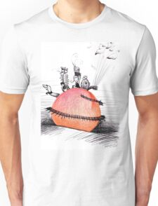 Not So Giant James and The Peach Unisex T-Shirt