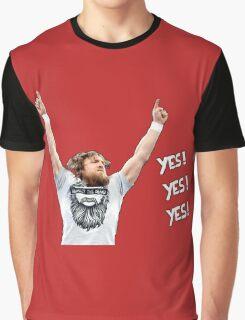 Daniel Bryan - YES! YES! YES! Graphic T-Shirt