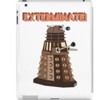 Dalek Exterminate! iPad Case/Skin