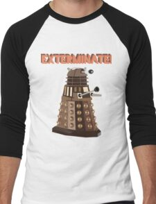 Dalek Exterminate! Men's Baseball ¾ T-Shirt