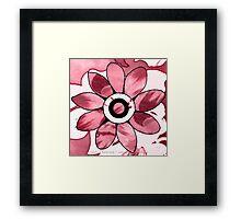 Shades Of Pink Framed Print