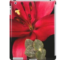 Lily of the Orient iPad Case/Skin
