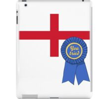 England You Tried Ribbon iPad Case/Skin