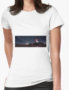 Moonrise over Pt Lonsdale Womens Fitted T-Shirt