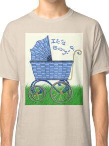 Baby Pram - It's a boy! Classic T-Shirt
