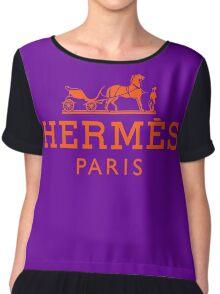 HERMES Chiffon Top