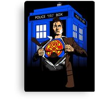 The Last Son of Gallifrey Canvas Print