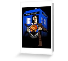 The Last Son of Gallifrey Greeting Card