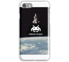 Space Invaders Pixelated  iPhone Case/Skin