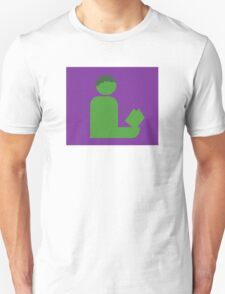 Hulking Gentleman Reads Unisex T-Shirt