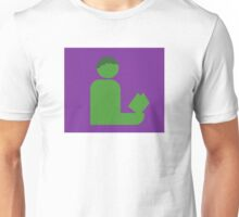 Hulking Gentleman Reads Unisex T-Shirt
