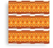 Pokeball- Orange Canvas Print