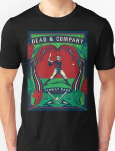 DEAD AND COMPANY SUMMER TOUR 2016 FENWAY PARK-BOSTON,MA Unisex T-Shirt