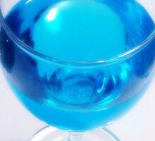 A Glass Of Liquid Sky Sticker