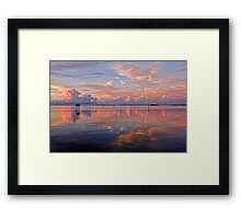 Clouds - Almost Heaven  Framed Print