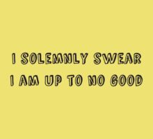 I solemnly swear that I am up to no good - Harry Potter One Piece - Short Sleeve
