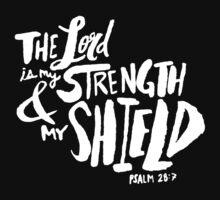 Psalm 28: 7 II One Piece - Long Sleeve