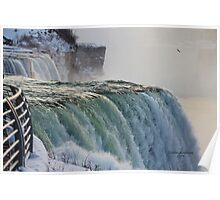 Niagara Falls in the Winter Poster