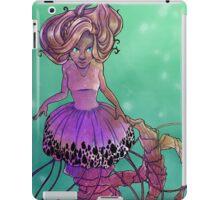Black Sea Nettle Mermaid iPad Case/Skin