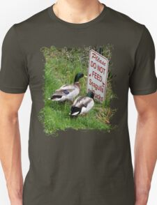 Ducks with a Problem T-Shirt