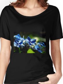 Blue Women's Relaxed Fit T-Shirt