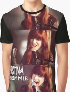 CHRISTINA GRIMMMIE PERFORMANCE Graphic T-Shirt
