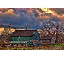 Puslinch Farm Photographic Print