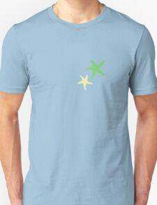 Starfish Duet Green/Yellow Unisex T-Shirt