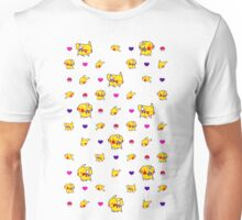 Pika Technicolor Poke-Pattern Unisex T-Shirt