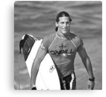 Andy Irons At O'Neill World Cup of Surfing 06 Canvas Print