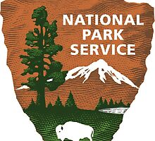 National Park Service logo products by Bachrottem