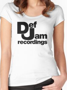def jam Women's Fitted Scoop T-Shirt