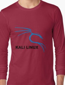 Kali Linux Stickers Long Sleeve T-Shirt