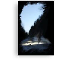 Path into Oblivion Canvas Print