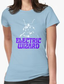 Electric Music Womens Fitted T-Shirt