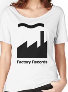 factory label funny Women's Relaxed Fit T-Shirt