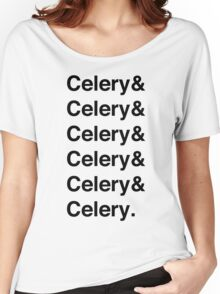 Celery & - as worn by Jamie Oliver Women's Relaxed Fit T-Shirt