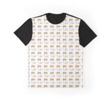 Cartoon Cat Graphic T-Shirt