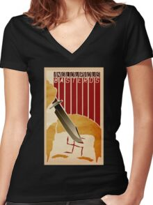 inglourious basterds Women's Fitted V-Neck T-Shirt