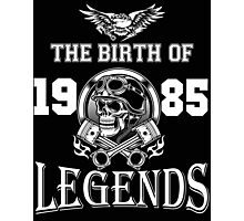 1985-THE BIRTH OF LEGENDS Photographic Print