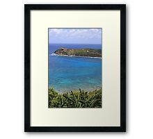St. John Island Framed Print