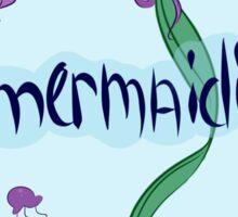 #mermaiding Sticker
