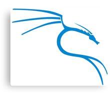 Kali Linux Dragon Stickers Canvas Print