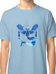 Team Mystic Logo Ice Mountains Classic T-Shirt