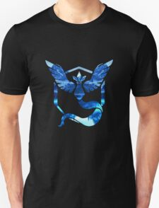 Team Mystic Logo Ice Mountains Unisex T-Shirt