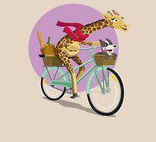 Giraffe Bicycle Unisex T-Shirt
