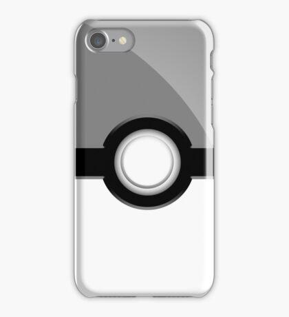 Poke´ Ball - Gray iPhone Case/Skin