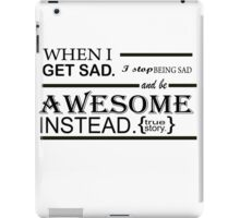 AWESOME INSTEAD iPad Case/Skin