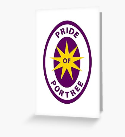 Pride of Portree Greeting Card