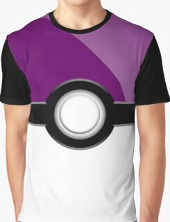 Poke´ Ball - Purple Graphic T-Shirt
